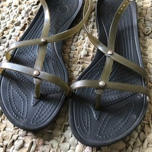 🐊 Crocs Strappy Sandals